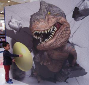 恐竜と三男くん