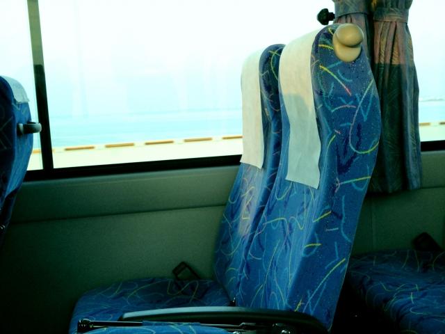 高速バスの座席のイメージ
